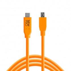 CableTetherPro USB-C a 2.0 MICRO-B 5-PIN (4.6m)